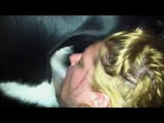 Blonde girl deepthroat big dog - ZooTrex - Free Amateur Porn->